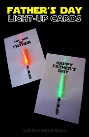 fathers day cards light up s day cards left brain craft brain