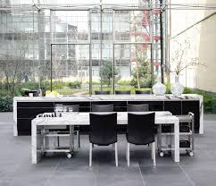 in an open floor plan furniture in an open floor plan