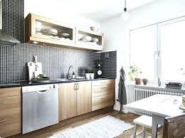 cuisine blanche sol noir cuisine blanche et bois darty qaw blanc lolabanet com