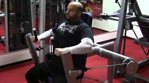 Seated Bench Press Rintaprässi Seated Bench Press Youtube