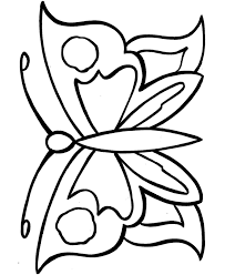 Printable Geometric Butterflies Coloring Pages Objects Free Easy To Print Coloring Pages