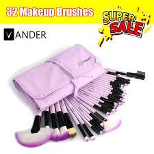 purple vander makeup brushes tool set cosmetic eyeshadow face