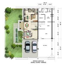 scintillating modern double story house plans ideas cool