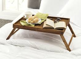 amazon com home basics pine bed tray with folding legs home
