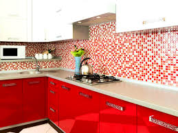 Red Kitchen Backsplash Ideas Bathroom Attractive Pictures Kitchen Backsplash Ideas From Red