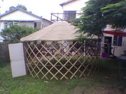 How To Make A Duck Blind Build Yourself A Portable Home A Mongolian Yurt 9 Steps With