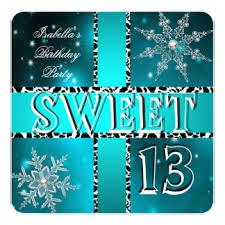 girls 13th birthday party invitations u0026 announcements zazzle