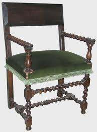 chaises louis xiii chaise à bras louis xiii epoque xviie siècle antiquités catalogue