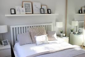 Shelves Over Bed Home Bedroom Tour Pringle Bay Pinterest Bedrooms Picture