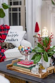 182 best christmas home tours images on pinterest christmas