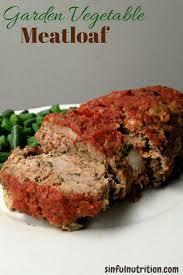 summer vegetable meatloaf recipe sinful nutrition