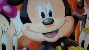 mickey mouse and friends mural by drews wonder walls youtube