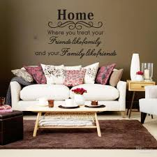 Wall Quotes For Living Room by Home Family Friends Spiritual Wall Quote Decal Decor Sticker