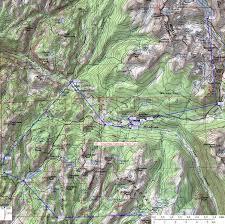 Map Of Yosemite Bear Box Map