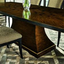 transitional dining room tables high style transitional dining table