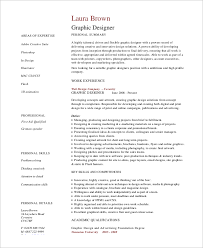 Graphic Designers Resume Samples by Simple Resume Example 8 Samples In Word Pdf
