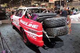baja car honda ridgeline baja race truck is ready to tear up the desert