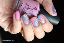 how to acrylic almond nail shape with art drops designs youtube