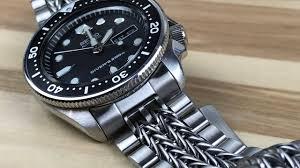 bracelet titanium seiko images Uncle seiko razor wire the best skx bracelet jpg
