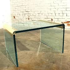 lucite waterfall coffee table acrylic waterfall coffee table peekapp co