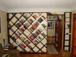 How To Build Bookshelves Echoes In Eternity Diagonal Bookshelf Plans