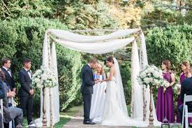chuppah poles arches and chuppahs j morris flowers