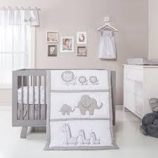 Safari Crib Bedding Set Neutral Safari Baby Bedding