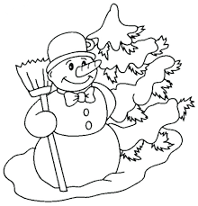 snowman coloring pictures printable pages crayola print free