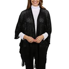 black shrug sweater shrugs sweaters cardigans for jcpenney