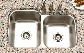 stainless steel double bowl undermount sink stainless steel double bowl undermount sink new in fresh houzer