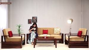Cheapest Sofa Set Online Buy Sofa Bed Online In India Space Saving Wooden Furniture