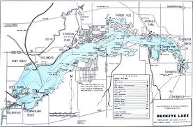 Topographic Map Of Ohio by Buckeye Lake Fishing Map Go Fish Ohio