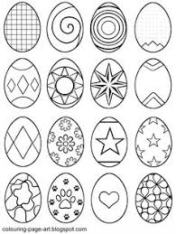 abstract easter coloring pages easter egg coloring pages bluebonkers easy easter egg outlines