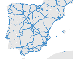 Iberian Peninsula Map Tweets On The Road Ifisc
