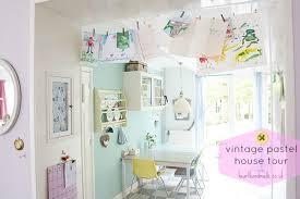 Pastel Kitchen Ideas Vintage Pastel House Tour Decor Advisor