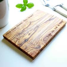 personalised cutting boards personalised olive wood chopping board by the rustic dish