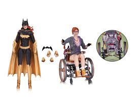 batman arkham knight batgirl oracle action figure 2 pack lil