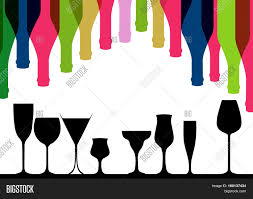 background bottle vector alcoholic vector u0026 photo bigstock