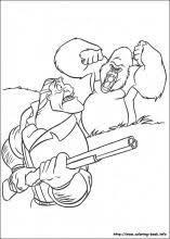 tarzan coloring pages coloring book