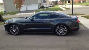 2015 mustang gt in the rare guard green color youtube