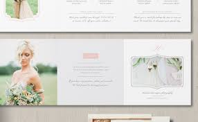 wedding photography pricing wedding photographer pricing guide trifold template eucalyptus