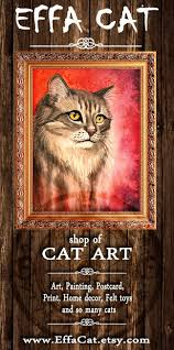 12 best my cat painting images on pinterest cat paintings