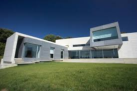modern style house contemporary style concrete house santander house by a cero digsdigs