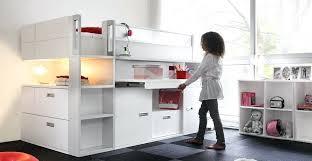 bureau pour mezzanine lit bureau fille collection dimix by gautier enfants ados lit