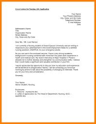 nursing position cover letter new grad nurse cover letter example