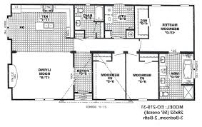 awesome 4 bedroom double wide mobile home floor plans and design
