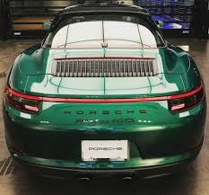 porsche 911 dark green emerald green porsche 911 targa 4 gts looks like a flawless gem