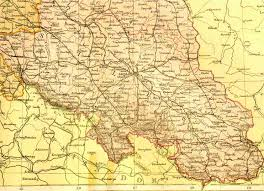 Map Of East And West Germany by Gersig Resources