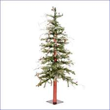 christmas trees slim pre lit beautiful pencil christmas trees