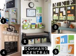 kitchen message center ideas diy create grand central station in your home mudroom
